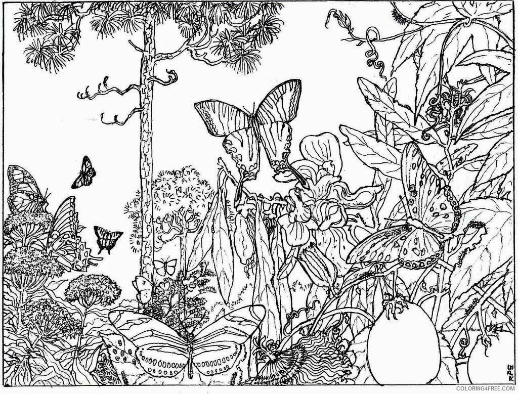 Printable Nature Coloring Pages For Kids Coloring Page For Kids ... | 779x1024