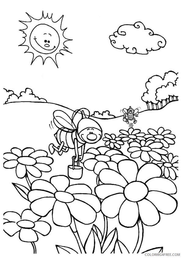 Free Printable Nature Coloring Pages For Kids - Best Coloring ... | 842x595
