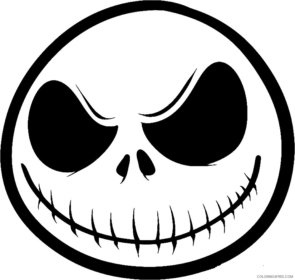 Free Printable Nightmare Before Christmas Coloring Pages - Best ... | 900x945