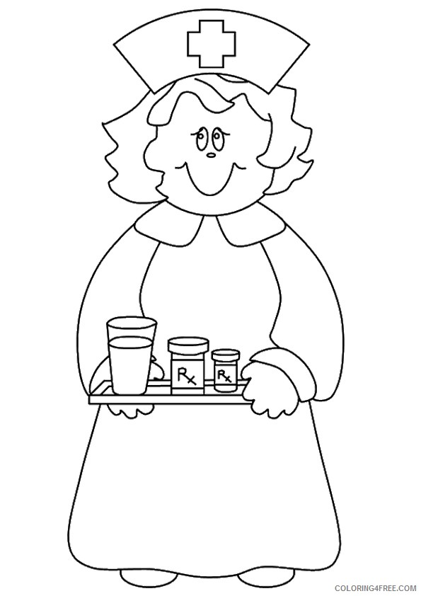 Community Helpers Coloring Pages| Distance Learning by Countless ... | 842x595