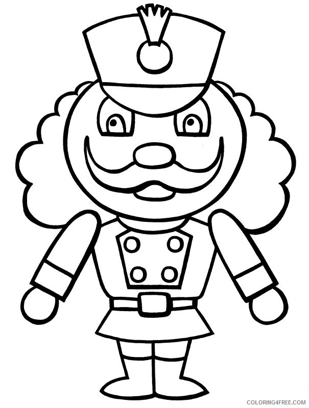 The Dancers From The Nutcracker Coloring Pages Printable | 800x605