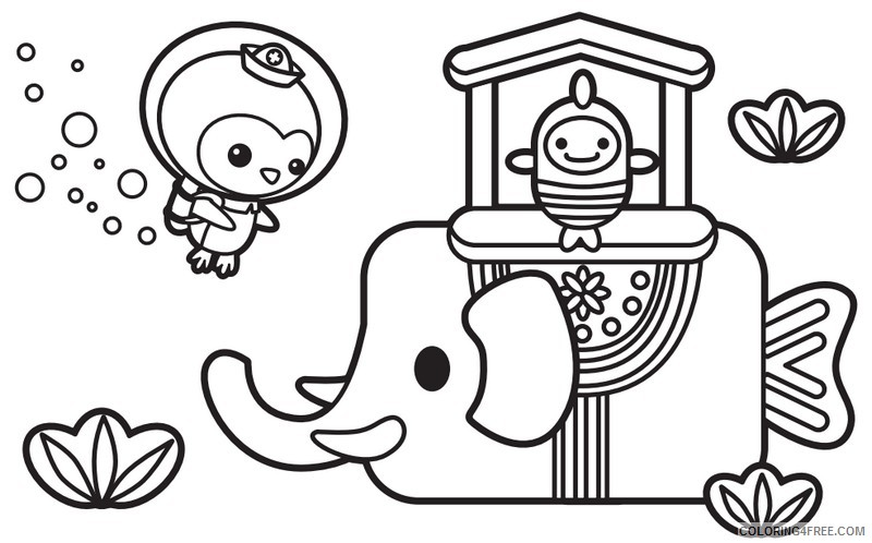 - Octonauts Coloring Pages For Kids Printable Coloring4free -  Coloring4Free.com
