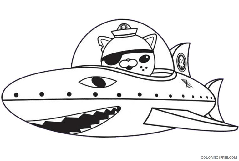 - Octonauts Coloring Pages Kwazii Cat Coloring4free - Coloring4Free.com