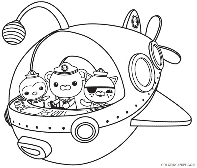 - Octonauts Coloring Pages Octonauts Crew Coloring4free - Coloring4Free.com