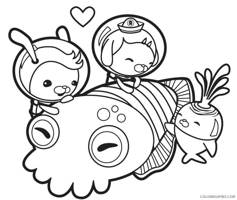 - Octonauts Coloring Pages To Print Coloring4free - Coloring4Free.com