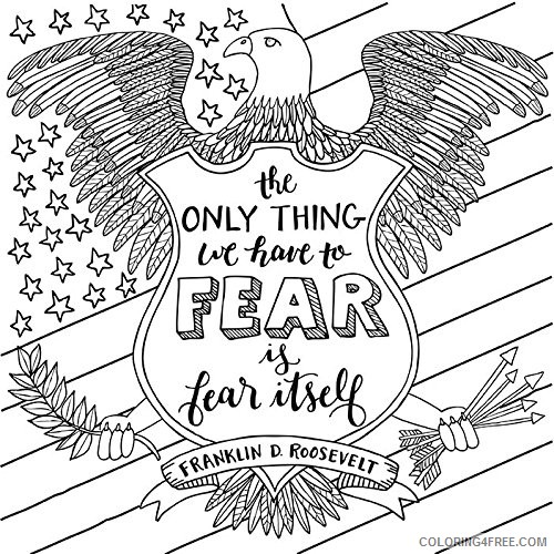patriotic coloring pages to print Coloring4free ...