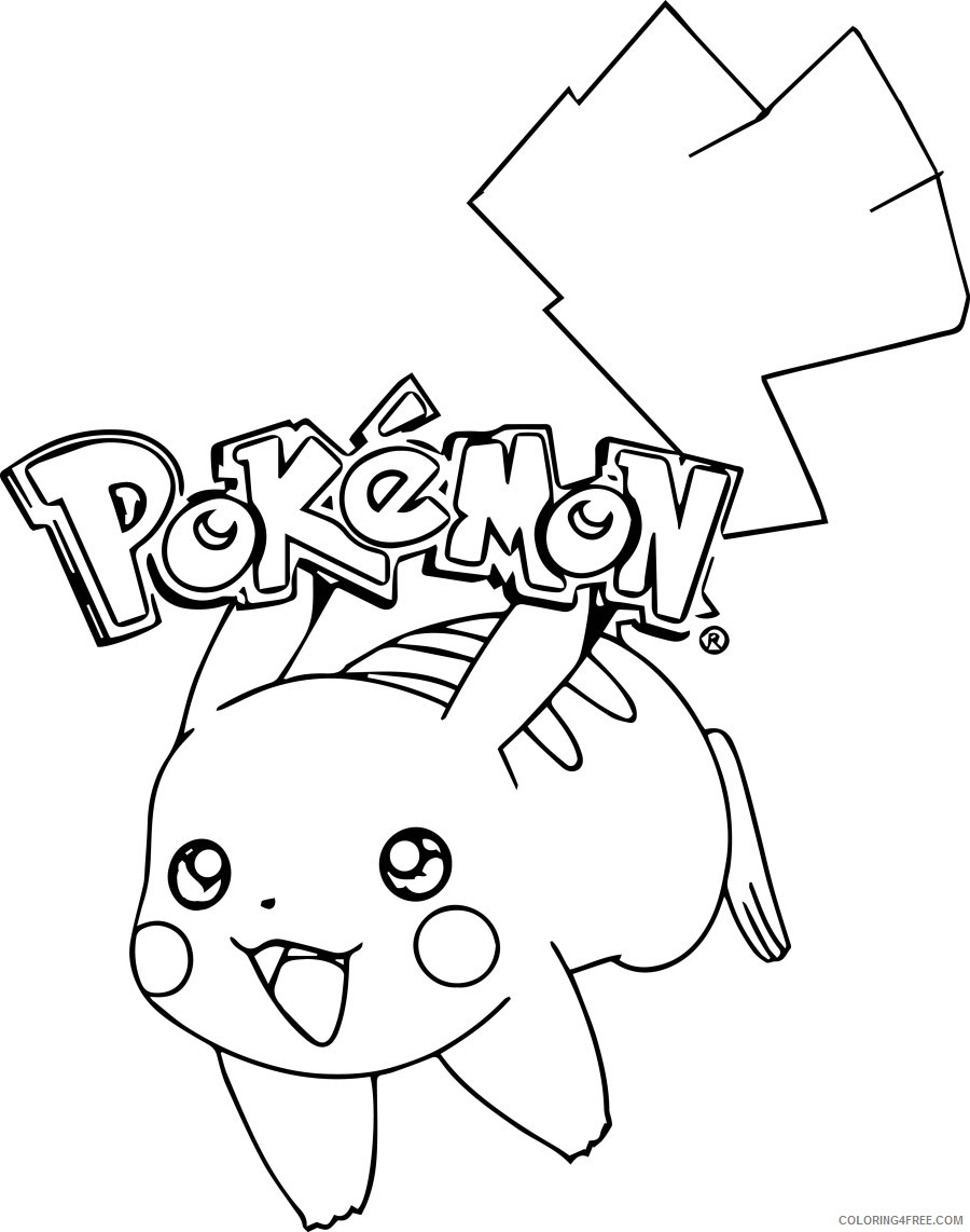 pikachu coloring pages pokemon Coloring18free   Coloring18Free.com