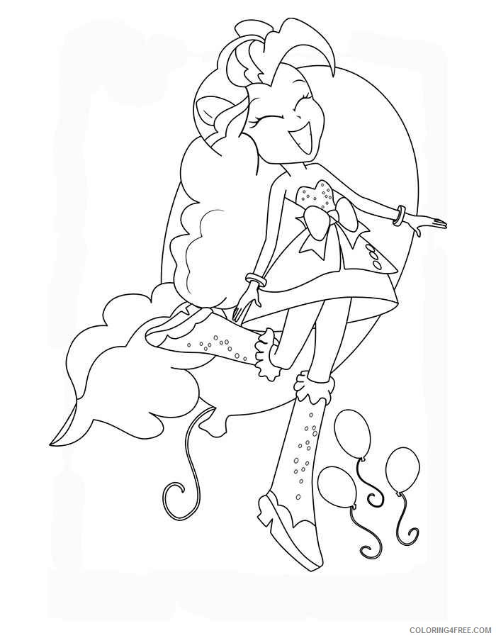 pinkie pie my little pony coloring pages | 900x700