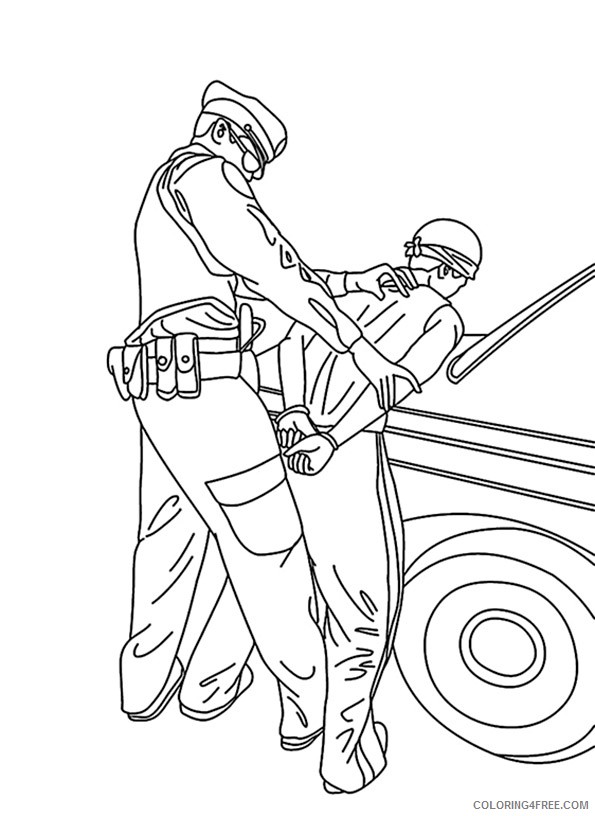 Police Officers are Superheroes coloring page   Free Printable Coloring  Pages   816x595