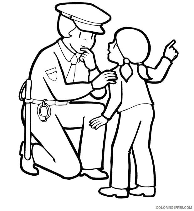 Police Coloring Page Coloring Page - Coloring Home | 674x620