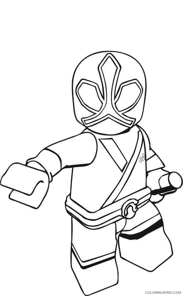 - Power Ranger Coloring Pages Lego Coloring4free - Coloring4Free.com