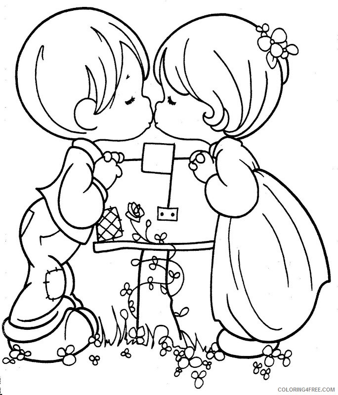 Precious Moments Christian Coloring Pages - Coloring Home | 800x684