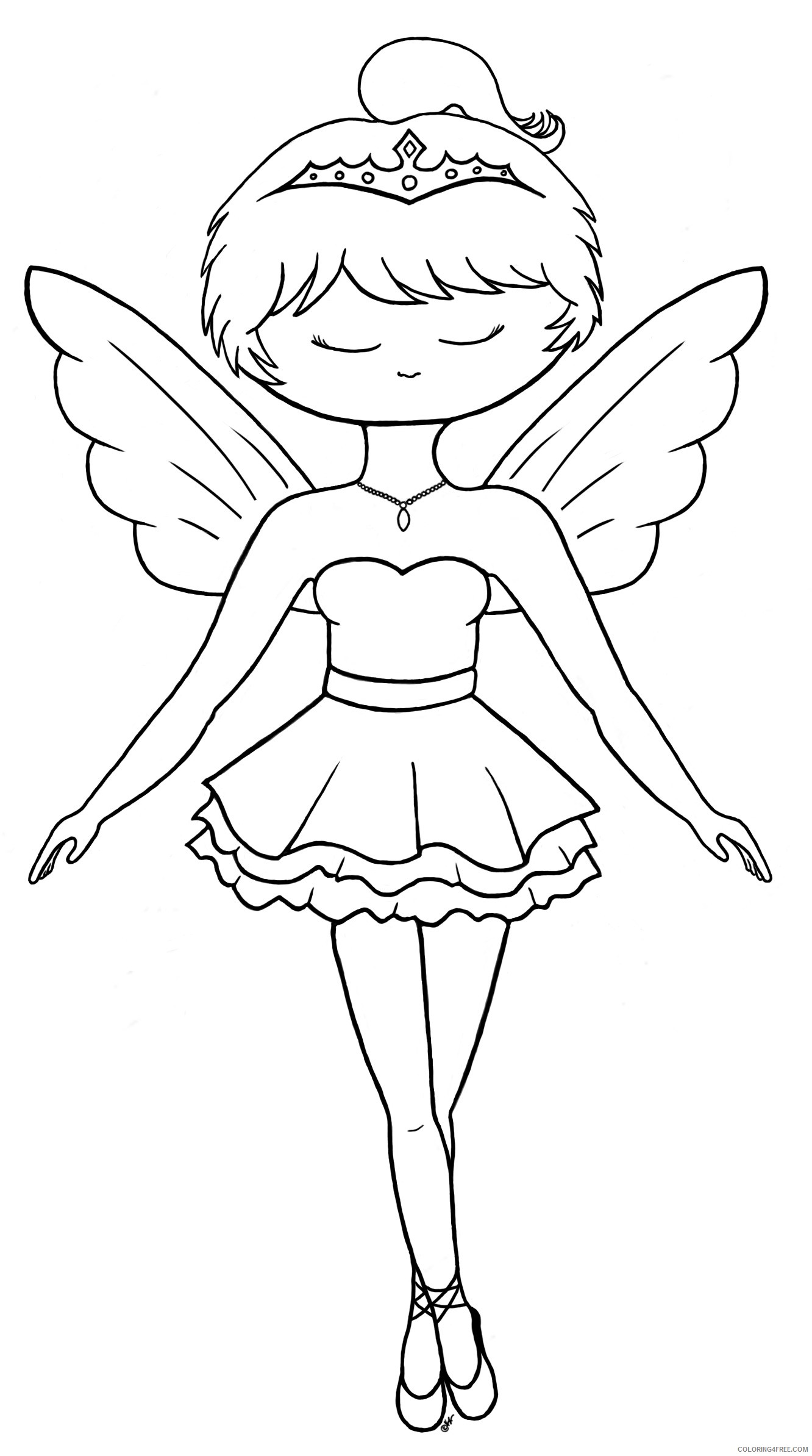 Free Printable Ballet Coloring Pages For Kids | 2387x1332