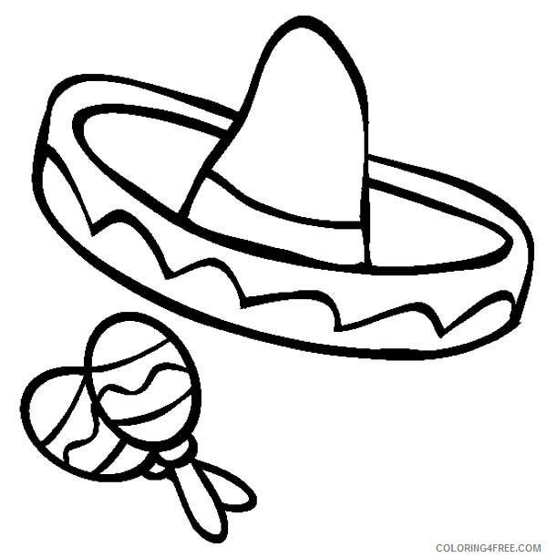 Get This Cinco de Mayo Coloring Pages to Print for Kids 37624 ! | 612x600