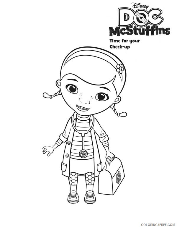 Doc McStuffins coloring pages on Coloring-Book.info | 771x600