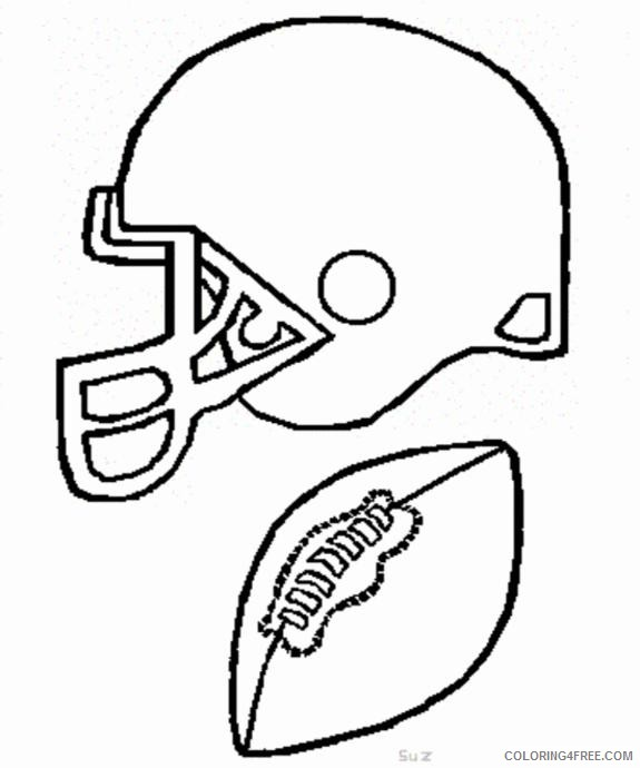 This is a photo of Free Printable Football Coloring Pages with wide receiver football player
