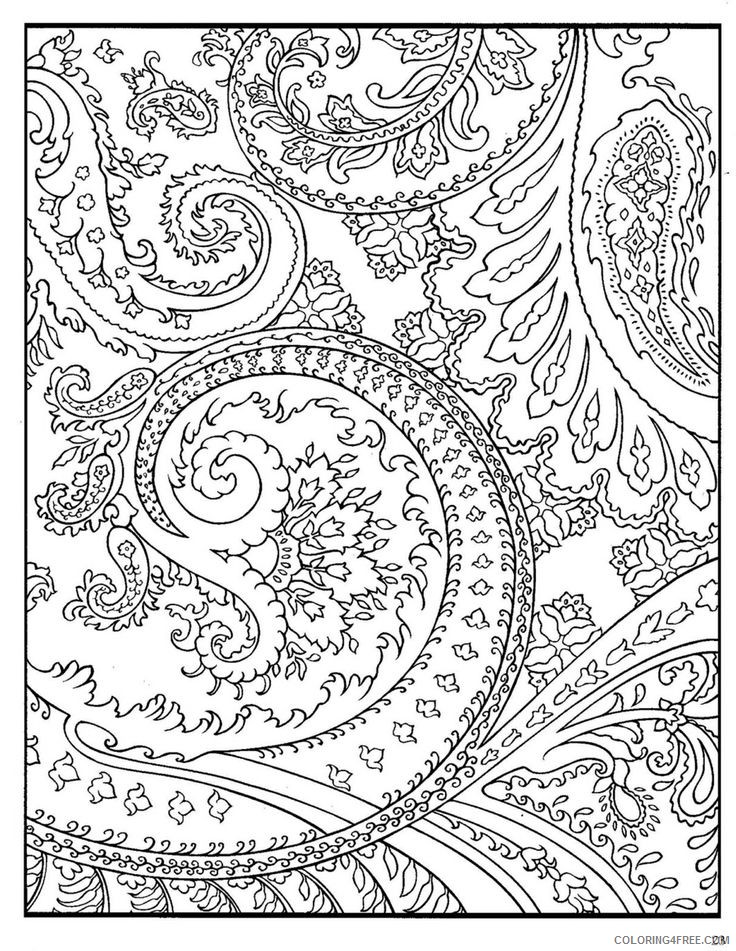 - Printable Hard Coloring Pages For Adults Coloring4free - Coloring4Free.com