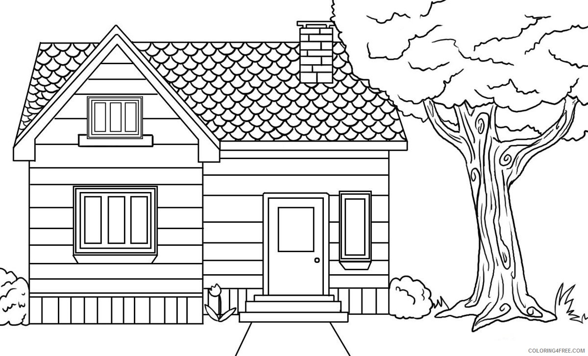 Treehouse Coloring Pages | Best Coloring Page Site - Coloring Home | 727x1200