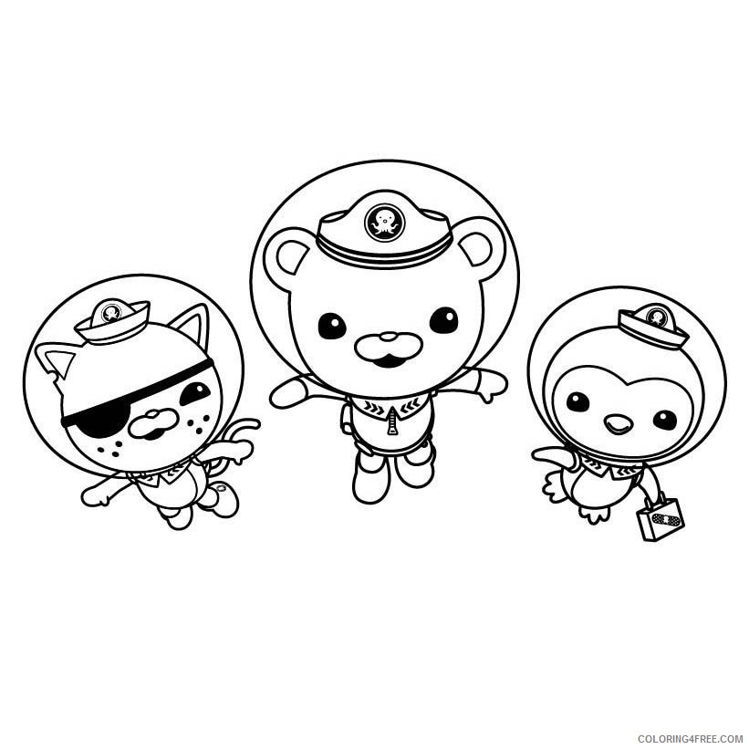 - Printable Octonauts Coloring Pages For Kids Coloring4free -  Coloring4Free.com