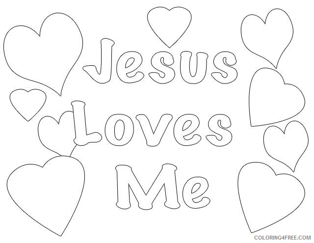 - Printable Religious Coloring Pages For Kids Coloring4free -  Coloring4Free.com