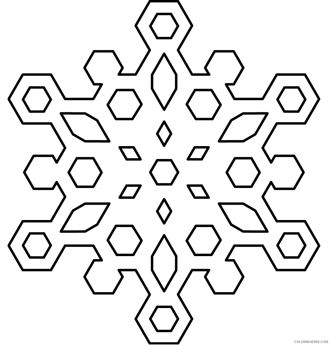 It's just a graphic of Printable Snowflake Stencils within easy