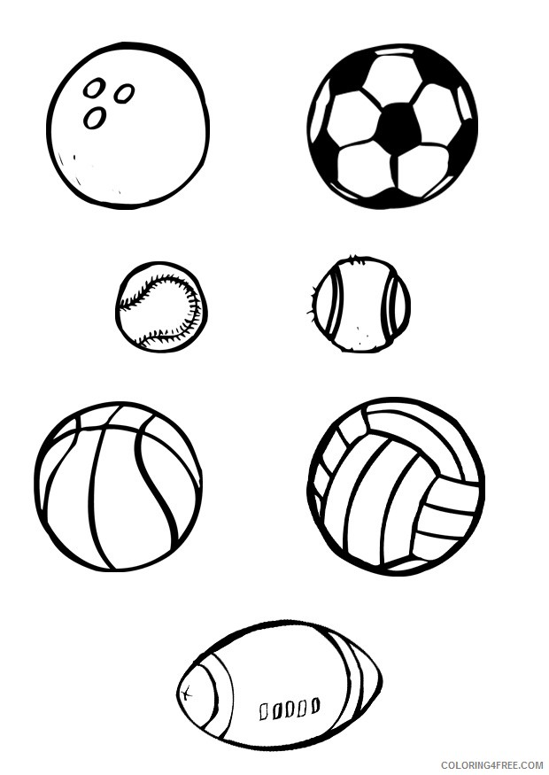 - Printable Sports Coloring Pages Coloring4free - Coloring4Free.com