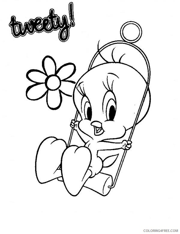 - Printable Tweety Bird Coloring Pages For Kids Coloring4free -  Coloring4Free.com