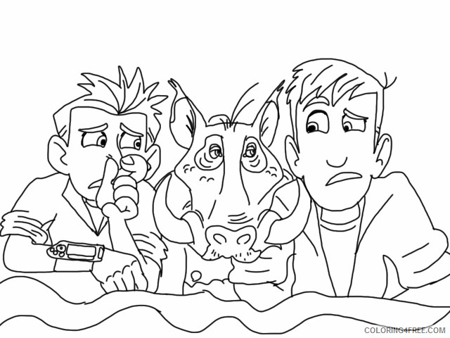 Wild Kratts Coloring Pages - Best Coloring Pages For Kids | 480x640