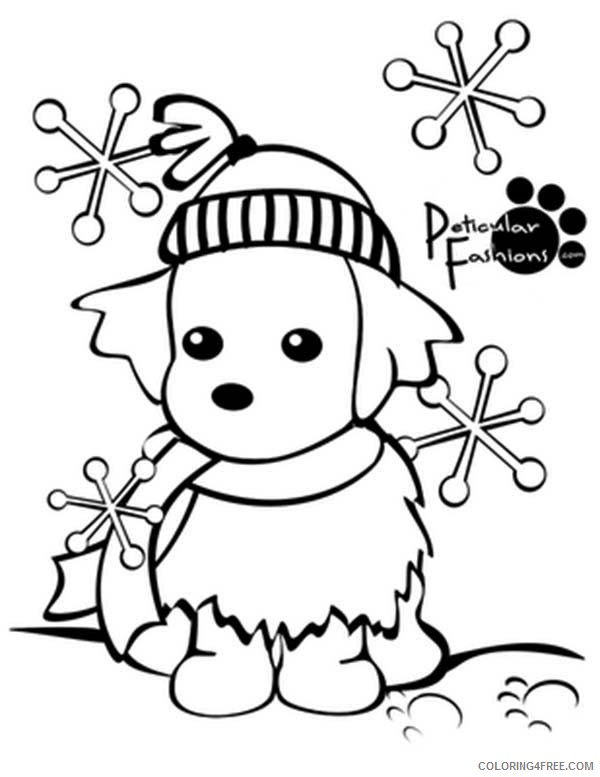 Printable Winter Coloring Pages Coloring4free - Coloring4Free.com