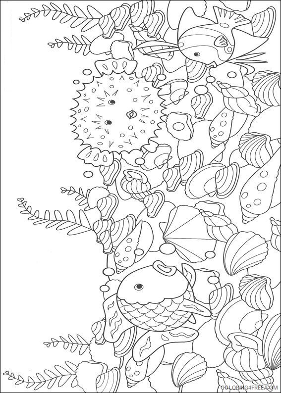 Puffer Fish Coloring Page - Coloring Home | 794x567