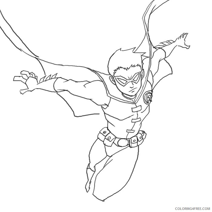 Coloring Pages In Action Coloring4free