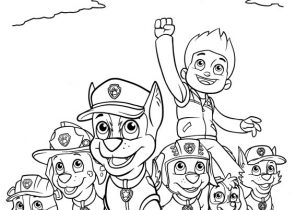 Paw Patrol Coloring Pages - Coloring4Free.com