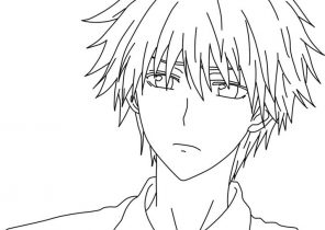 Anime Coloring Pages Coloring4free Com