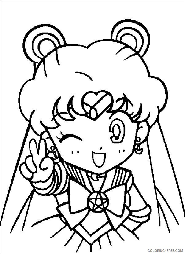 Sailormoon Coloring Pages - Free Printable Coloring Pages | Free ... | 827x602