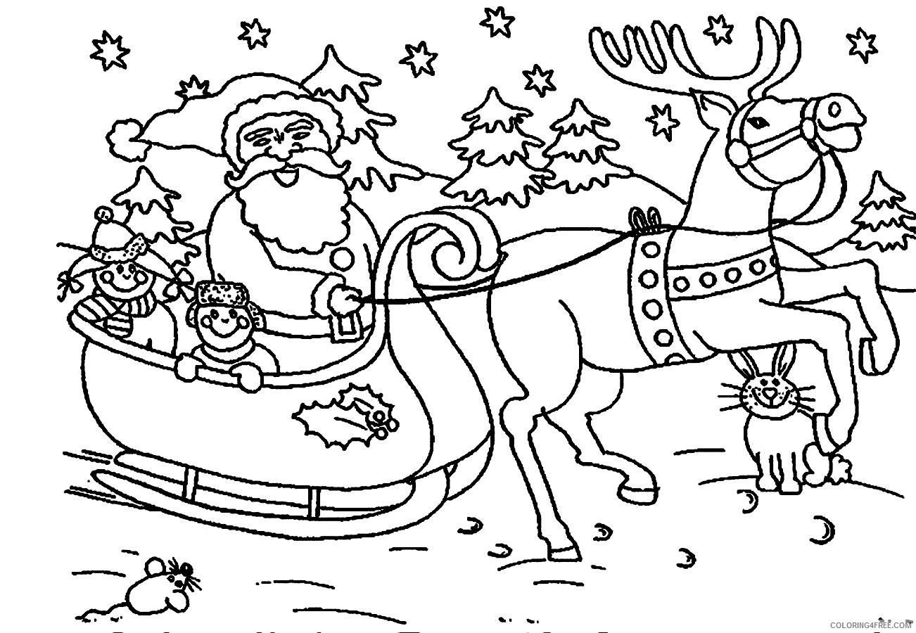 Free Kids Christmas Coloring Pages | What Mommy Does | 900x1302