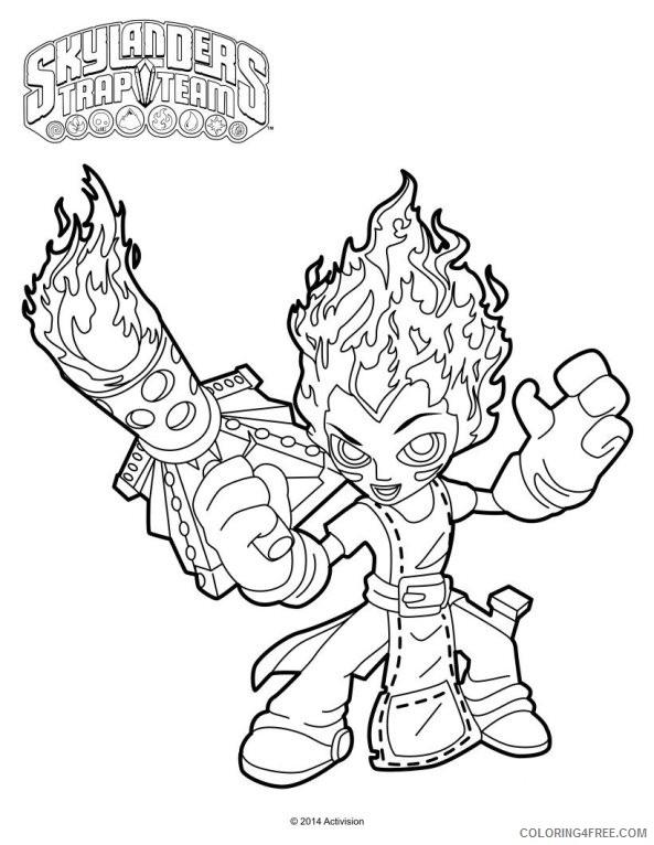 Skylanders #43 (Cartoons) – Printable coloring pages | 766x593