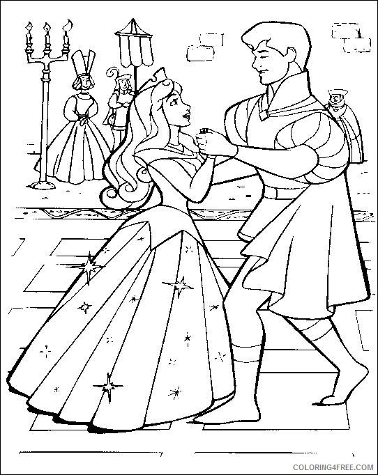 Sleeping Beauty coloring pages - Aurora | Sleeping beauty coloring ... | 682x542