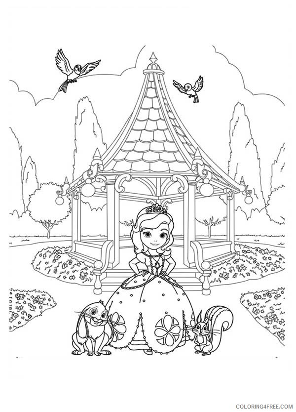 Princess Coloring Pages Coloring4free