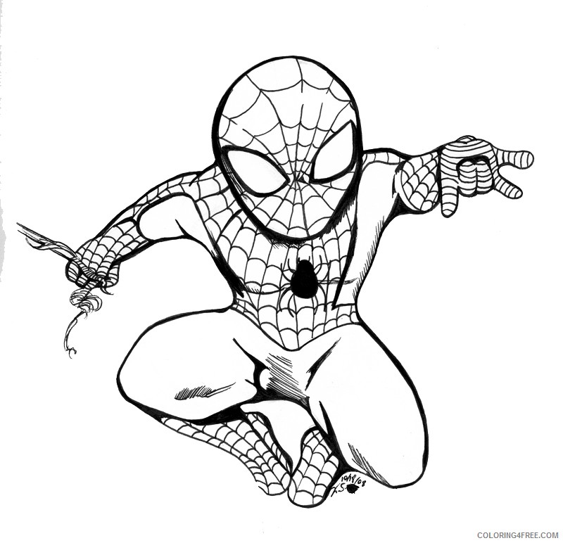 Coloring Pages Spiderman Ideas - Whitesbelfast | 772x800