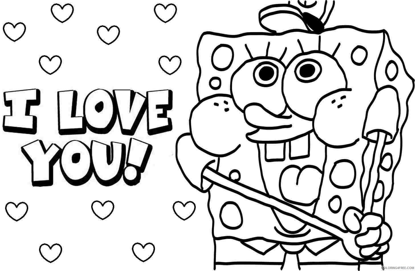Butterfly Coloring Sheets: Spongebob Squarepants Coloring ... | 952x1460