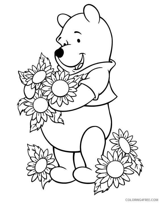 Free Sunflower Coloring Page, Download Free Clip Art, Free Clip ... | 714x564