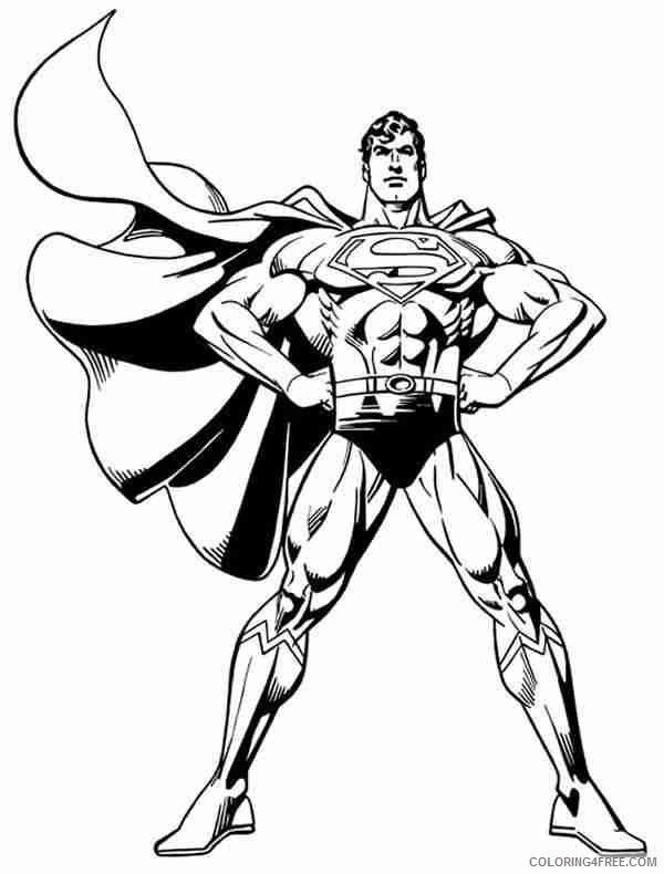 Superman Flying Coloring Pages – Coloring Pages for Kids | 790x600