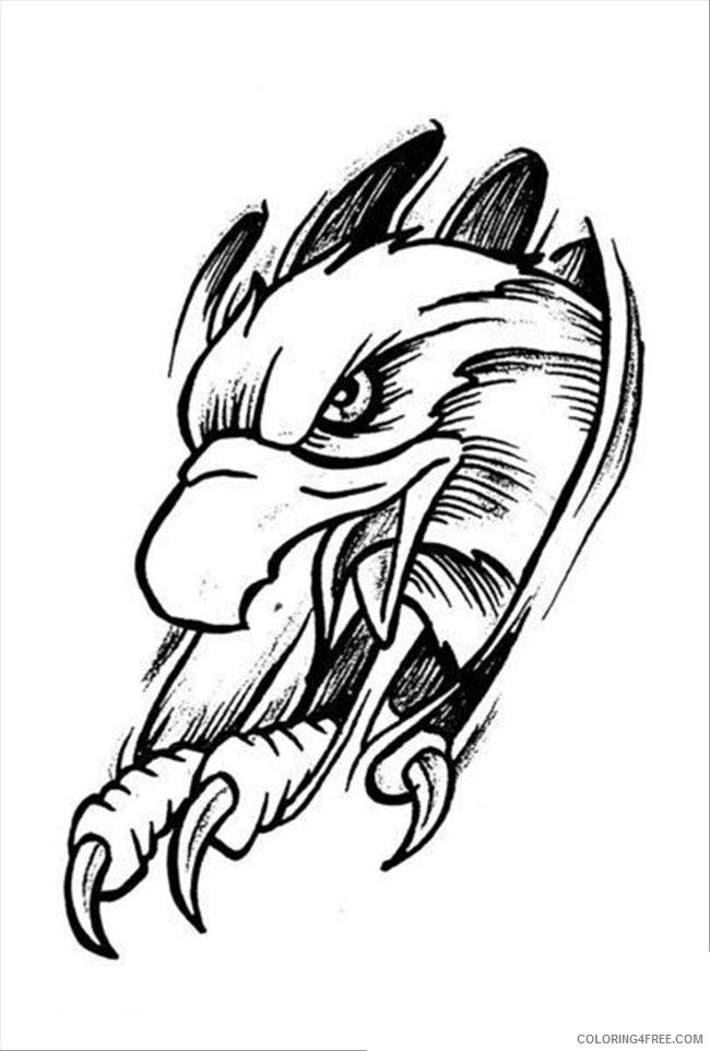 - Printable Tattoo Coloring Pages For Adults Coloring4free - Coloring4Free.com