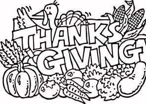 November Coloring Pages Coloring4free Com