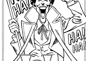 Joker Coloring Pages Page 2 Of 3 Coloring4free Com