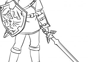 Zelda Coloring Pages Page 2 Of 2 Coloring4free Com