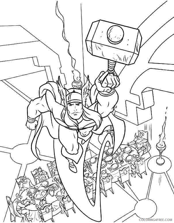 thor coloring pages free printable coloring4free coloring4free com thor coloring pages free printable