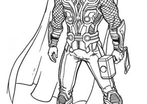 Thor Coloring Pages Coloring4free Com