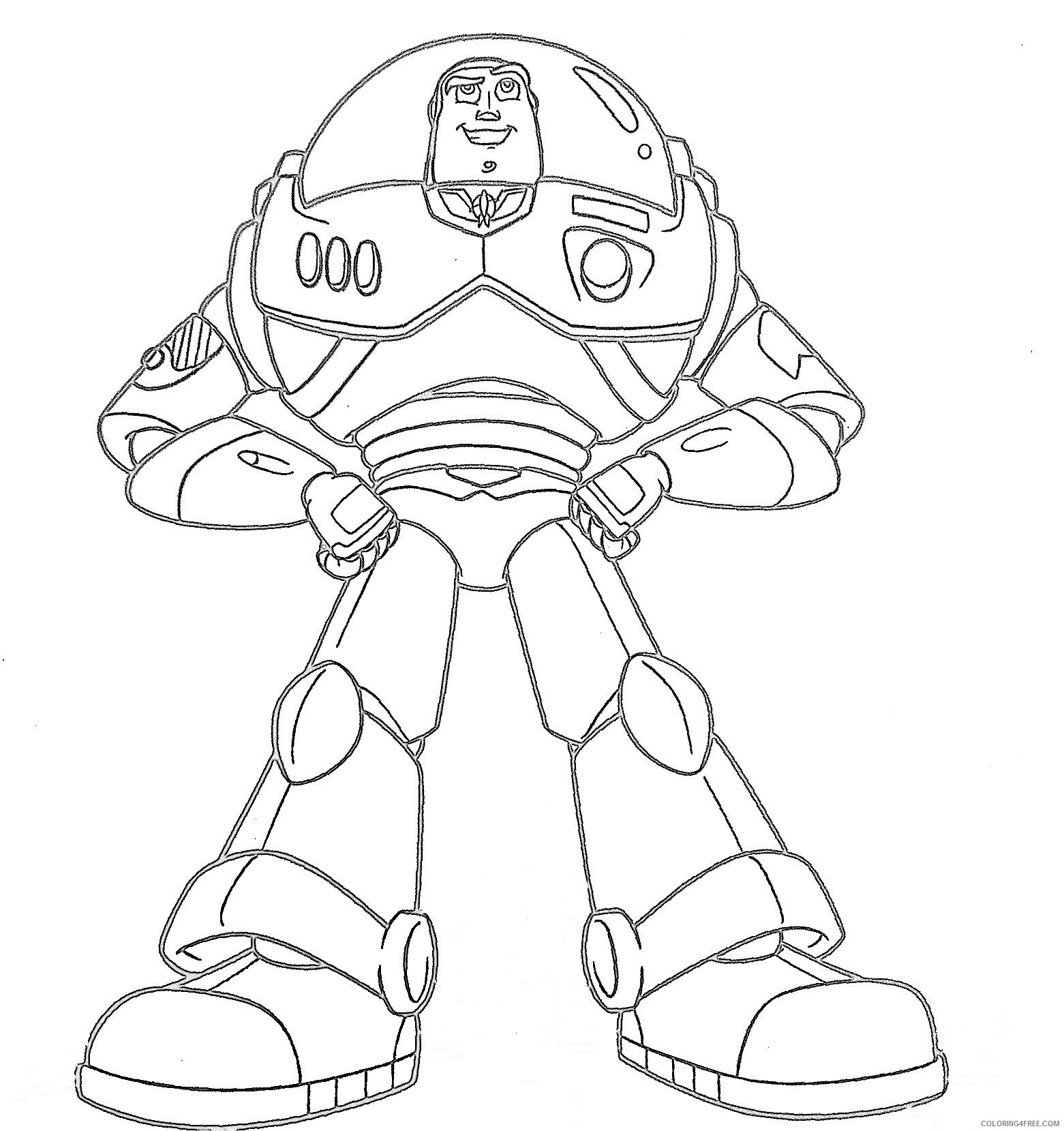 Free Printable Buzz Lightyear Coloring Pages For Kids | 1659x1561