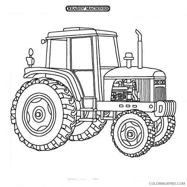 Tractor Coloring Pages Free Printable Coloring4free - Coloring4Free.com